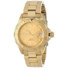 Gold Plated Case Mechanical (Automatic) Wristwatches