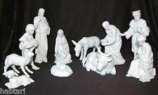 Sammlung 11 Krippenfiguren Bisquit Porzellan von Rosenthal Classic Weihnachten