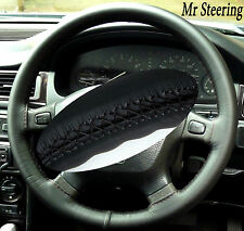 FOR KIA CERATO REAL LEATHER STEERING WHEEL COVER BLACK