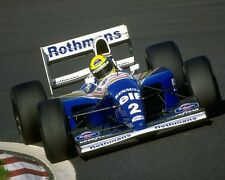 Ayrton Senna 1994 Formula One F1 Elf Rothmans Renault Racing Car Photo Picture