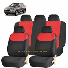 RED ELEGANT AIRBAG COMPATIBLE SEAT COVER SET for HYUNDAI ELANTRA ACCENT
