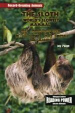 El Perezoso/the Sloth: El Mamifero Mas Lento Del Mundo-ExLibrary