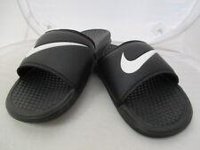 Nike Benassi Swoosh Flip Flops UK 11 US 12 EUR 46 cm 30 ref 428*
