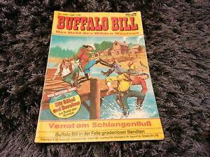 BUFFALO BILL Nr. 468, schöner BASTEI Western-Comic 1978 mit Magazinteil