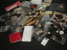 Large BUNDLE of SEWING ITEMS Vintage Cases, Buttons & A Whole Lot More!