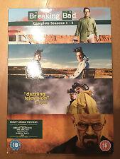 Breaking Bad Season 1-4 Box Set (DVD). Probably unplayed.. looks like it