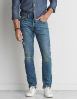 American Eagle Mens Premium Selvedge Denim Slim Fit Jeans Limited RARE NEW 34x32
