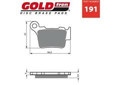 KTM  530EXC/EXCR ENDURO Goldfren Rear Brake Pads 08 - 11