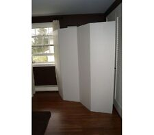 Privacy Room Divider - White Cardboard