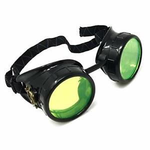 Steampunk Mad Scientist costume goggles accessories cosplay goth punk Mad Max