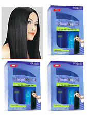 3x LOLANE Set Kit Straight Off Rebonding Gel For Dry and Damage Hair Easy to use