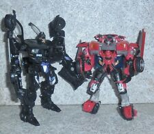 Transformers Movie BARRICADE Rotf SWERVE Deluxe Lot