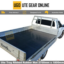 Ute Tray Liner Rubber Mat Non Slip Mat  Drop Side Tray 2700 by 1800