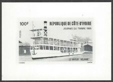 Ivory Coast #738 1985 Stamp Day photographic proof