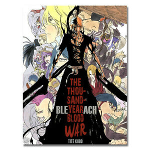 Bleach Dead Rukia Ichigo Fight Japan Anime Art Silk Poster 13x18 24x32inch J026