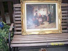 Beautiful Original Oil Painting, Tibor Tasnadi, and beautiful frame