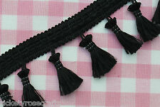 TASSEL FRINGE TRIM By the Metre or 25m Reel - Furnishings & Costumes