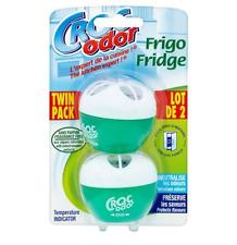Croc Odor Twin Pack Fridge Fresh Deoderiser Freshener Neutraliser
