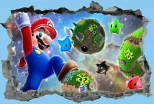 Super Mario,Sticker,3D,Kids,Decal,Bedroom,Wall Art,Mural