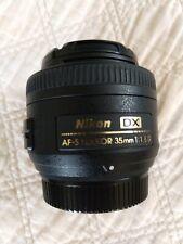 Nikon Nikkor 35mm 1.8g