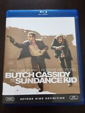 Butch Cassidy and the Sundance Kid On Blu-Ray! Great Condition!