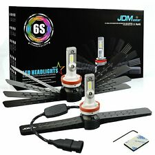 JDM ASTAR 6S 8000LM H11 Headlight High/Low Beam  Fog Light Cornering Bulbs White