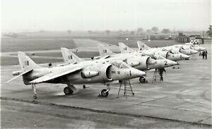 HISTORIC  PHOTOGRAPH OF HAWKER P.1172 KESTRELS AT RAF WEST RAYNHAM IN1963