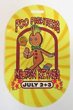 scarce FOO FIGHTERS MILTON KEYNES England Laminate pass