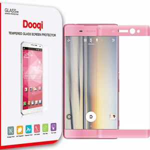 For Sony Xperia XA Ultra Full Cover 3D Curved Tempered Glass Screen Protector