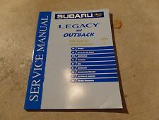 2004 Subaru Legacy and Outback Factory Service Manual Vol 1 General Information