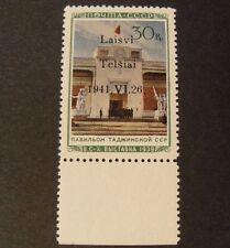 "GERMANIA GERMANY,REICH 1941 Litauen Telsiai Telschen"" 20I OVP"" 30K MNH Signed"