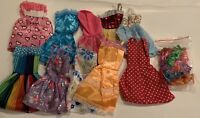 Assorted Lot Of Barbie Doll Sized Clothing