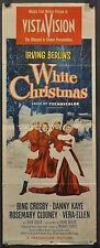 WHITE CHRISTMAS 1954 ORIGINAL 14X36 MOVIE POSTER BING CROSBY DANNY KAYE