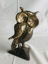 Sculpture Hibou En Bronze Signé Yves LOHÉ