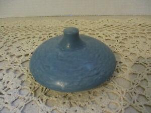 Vintage Roseville Pottery Blue Tea Pot Lid (Lid Only)