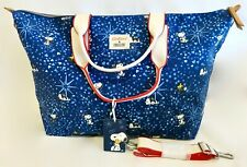 Cath Kidston Snoopy Blue Travel Bag Overnight Across Crossbody Handbag Peanuts