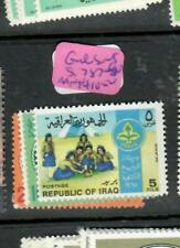 IRAQ (P0106BB)  GIRL SCOUTS  SET           SG 787-790       MNH