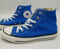 Converse Chuck Taylor All-Star HI Electric Blue Shoes Women's Size 5
