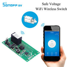 Sonoff SV WiFi Wireless Smart Low Voltage Home Automation Switch for IOS/Android