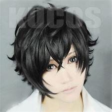 P5 Persona 5 Kurusu Akira Joker Cosplay Wig Anti-wrinkle Curly Hair DISCOUNT wig