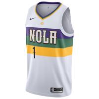 Brand New NBA Nike City Edition Swingman Jersey Zion Williamson   Pelicans  
