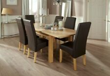 Unbranded Oak Contemporary Piece Table & Chair Sets 5