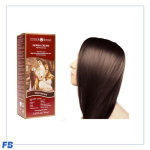 Surya Brasil - Henna Cream Kit, Natural Hair Colour, 70ml - 13 Different Colours