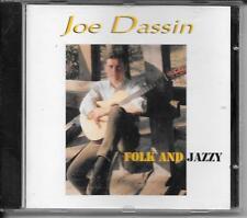 CD ALBUM 18 TITRES--JOE DASSIN--FOLK AND JAZZY--1996