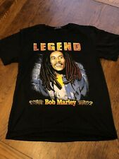 Bob Marley Legend Graphic Shirt Sz L