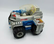 Vintage '85 Marchon,inc. B.A.D. battery operated4wd assault vehicle-tested works