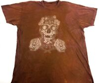 Obey shirt OBEY tee Brown tee Street Wear shirt Street Style Art Band tee XL