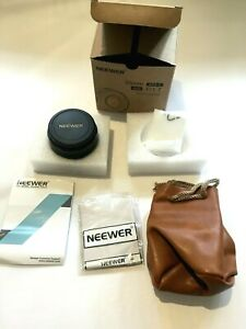 NEEWER 35mm F/1.7 Manual Lens APS-C Pana OLY Micro 4/3 MFT mount in BOX - As New