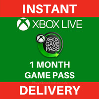 Xbox Game Pass 1 Month Trial Membership Xbox Compatible - Instant Delivery