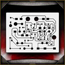 Circuit Board 3 Airbrush Stencil Template Airsick